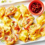 Pork and lemongrass fried wontons