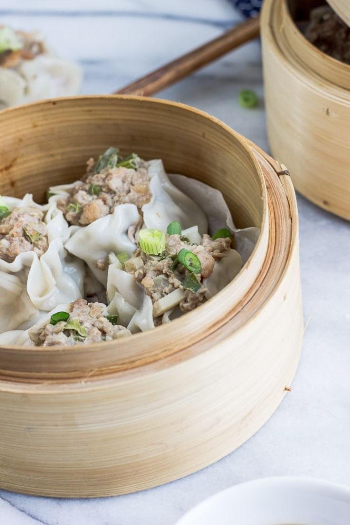 Pork and Shrimp Shumai Dumplings